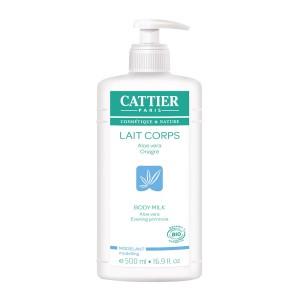 Cattier Lait Corps BIO  - 500 ml Aloe vera, Onagre Modelant