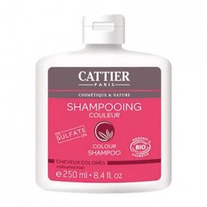 Cattier Shampooing Couleur - 250 ml Pour cheveux colorés 0% sulfates