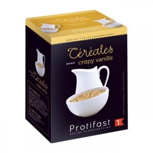 Protifast Céréales Saveur Crispy Vanille 7 sachets Phase 1 En-cas hyperprotéiné Phase active 1