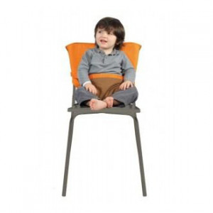 Chaise Nomade Chocolat / Orange