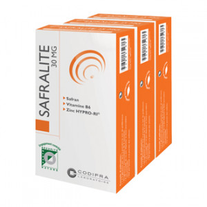 Safralite 30mg - Lot de 3 Boites