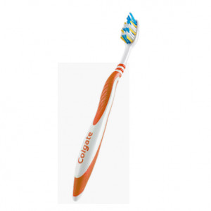 Brosse à Dents ZigZag Orange Medium