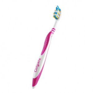 Brosse à Dents ZigZag Rose Medium
