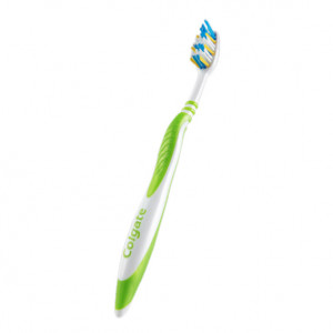 Brosse à Dents ZigZag Verte Medium