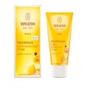 Calendula - Crème Protectrice Visage Bébé - 50 ml