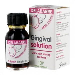 Delabarre Solution Gingivale 15 ml Solution pour les douleurs liées à la poussée dentaire de bébé