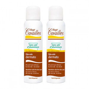 Rogé Cavaillès Déo-Soin Dermato Spray 150 ml Lot de 2 Sans sels d'aluminium  Pour respecter les peaux les plus sensibles