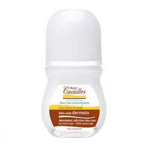 Rogé Cavailles Déo-Soin Dermato Roll-on 50 ml Sans sel d'aluminium Pour peaux délicates et sensibles