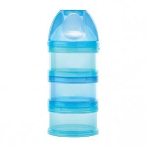 Dodie Boîte Doseuse Bleue - 3 Compartiments Séparable Empilables Vissables 0% BPA