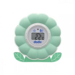 Dodie Thermomètre 2 en 1 Bain et Chambre Thermomètre bain et chambre Mise en veille automatique Pile fourni