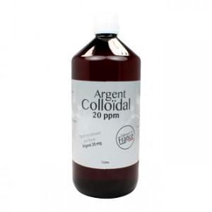 Dr Theiss Argent Colloïdal 20ppm 1 Litre 100% naturel Sans conservateur Ni adjuvants