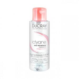 DUCRAY - Ictyane - Eau Micellaire Hydratante - Visage et Yeux 100 ml Nettoyant visage et yeux pour peaux normales à sèches