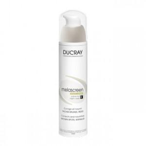 Ducray Melascreen Photo-Vieillissement - Crème Nuit 50 ml Corrige et nourrit Taches brunes et rides Sans paraben