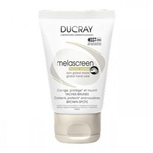 Ducray Melascreen Photo-Vieillissement - Soin Global Mains SPF50+ 50 ml Corrige, protège et nourrit Taches brunes Sans paraben Avec parfum