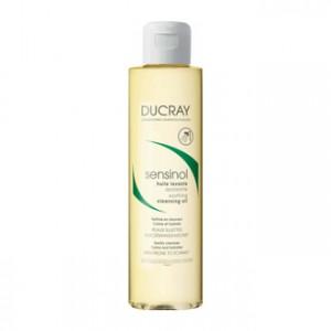 Ducray Sensinol - Huile Lavante Apaisante 200 ml Nettoie en douceur Calme et hydrate Peau sujettes aux démangeaisons Sans savon