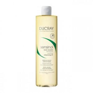 Ducray Sensinol - Huile Lavante Apaisante 400 ml Nettoie en douceur Calme et hydrate Peau sujettes aux démangeaisons Sans savon