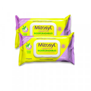Lingettes Biodégradables - DUO - Mitosyl - Hyperpara