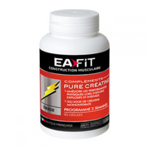Eafit Pure Créatine 90 gélules Best seller ! De l'énergie explosive !