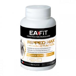 EA Fit  Ripped Max Metabol 63 Comprimés Maintien du taux de testostérone Participe à la synthèse protéique Programme 21 jours