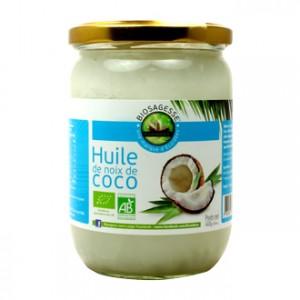 Ecoidées Biosagesse - Huile de Noix de Coco 460g Produit issu de l'agriculture biologique
