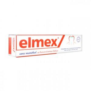 Elmex Dentifrice Sans Menthol Compatible Homéopathie - 75 ml  8714789940120