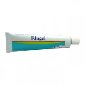 elugel gel buccal à la chlorhexidine 40 ml réduit la plaque dentaire et contribue asepsie locale