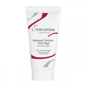 embryolisse masque confort anti-âge 60 ml soin visage intense lissant tous types de peaux régénère hydrate nourrit acide hyaluronique vitamine E hyperpara