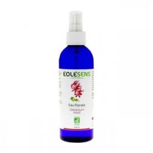 éolésens eau florale géranium rosat 200 ml bio soin pour le visage peaux à problèmes hyperpara