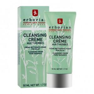Erborian Cleansing Crème aux 7 Herbes 50 ml Crème nettoyante visage, pur éclat 3760239240710