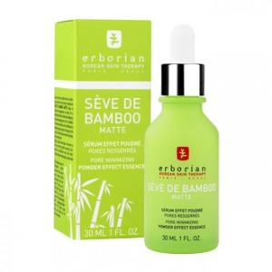 Erborian Sève de Bamboo Matte 30 ml Sérum effet poudré Pores resserrés