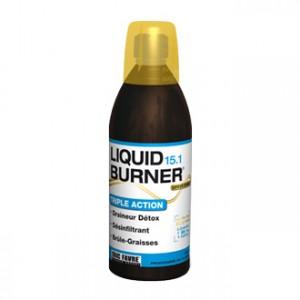 eric favre liquid burner 15.1 saveur orange 500 ml triple action draineur détox désinfiltrant brûle-graisses programme de 15 jours hyperpara