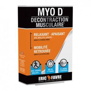 Eric Favre Myo D Décontraction Musculaire - 30 Comprimés Relaxant, apaisant Mobilité retrouvé Dos, cuisses, mollets .... 15 jours