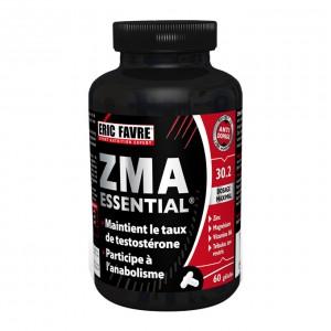 Eric Favre ZMA Essential - 60 Gélules Maintient le taux de testostérone Participe à l'anabolisme