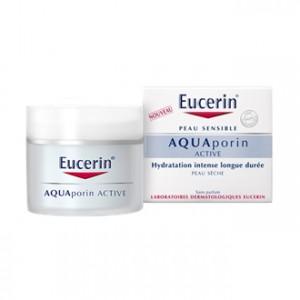 AquaPorin Active Texture Riche 50 ml Peau Sèche Hydratation intense longue durée Sans parfum