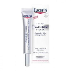 Eucerin Hyaluron-Filler - Contours des Yeux 15 ml Contrôle les rides même en profondeur Contour des yeux anti-rides
