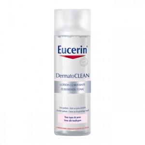 Eucerin DermatoCLEAN - Lotion Clarifiante 200 ml Pour tout type de peau Elimine les résidus et impuretés