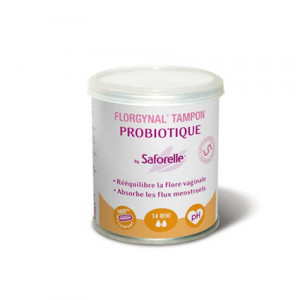 Florgynal Tampon Probiotique Mini x14