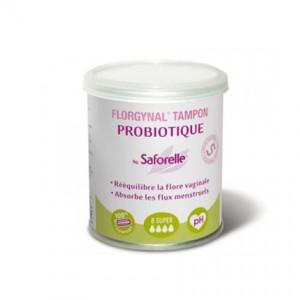 Florgynal Tampon Probiotique Super x8