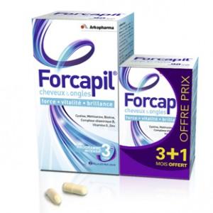 Forcapil Boite de 180 Gélules (+60 gélules offertes)