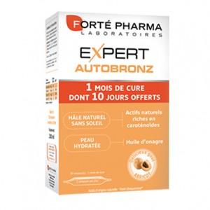 Expert Autobronz Cure d'un mois (30 ampoules dont 10 offertes)