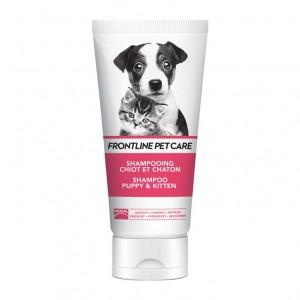 Frontline Pet Care- Shampooing Chiot et Chaton - 200 ml Adoucit, hydrate et protège Pour chiot et chaton
