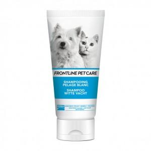 Frontline Petcare - Shampooing Pelage Blanc - 200 ml Idéal pour les pelages blanc Pour chien et chat