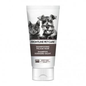 Frontline Pet Care - Shampooing Pelage Noir - 200 ml Idéal pour les pelages foncé Pour chien et chat