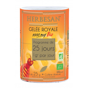 Gelée Royale BIO 1000 mg Pot de 40g Maxi format