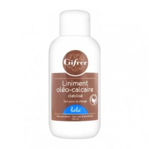 GIFRER - Liniment Oléo-Calcaire 100 ml - Soin pour le change de bébé - Hyperpara