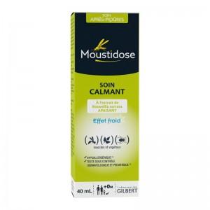 gilbert moustidose soin après piqures 40 ml, soin calmant, insectes et végétaux, sans conservateur, sans parfum et hypoallergénique