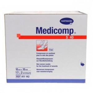 Medicomp S40 - Compresses Non-Tissées 10x10 cm