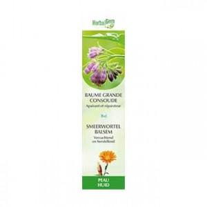 HerbalGem Baume Grande Consoude BIO  - 60 ml Apaisant et réparateur Nourrit et protège la peau 5425009091302