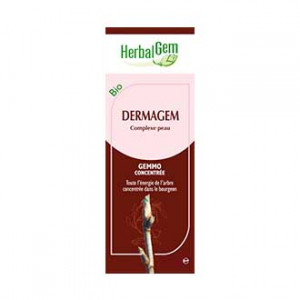 HerbalGem Dermagem BIO - 30 ml Complexe peau Purifie et restaure votre peau 5425009103814