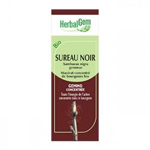 HerbalGem Sureau Noir 30 ml Macérat concentré de bourgeons BIO Bourgeon de l'élimination